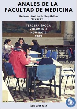 Tapa Anales de la Facultad de Medicina Vol. 6, número 2, 2019